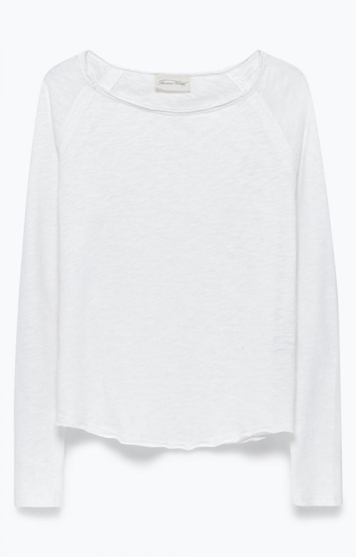 Billede af American Vintage bluse, SON31 hvid