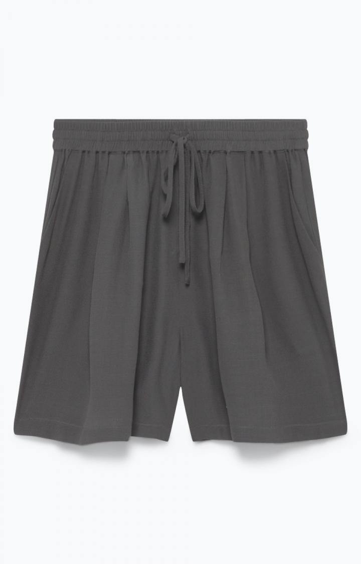 Image of   American Vintage shorts, LIO131 charcoal
