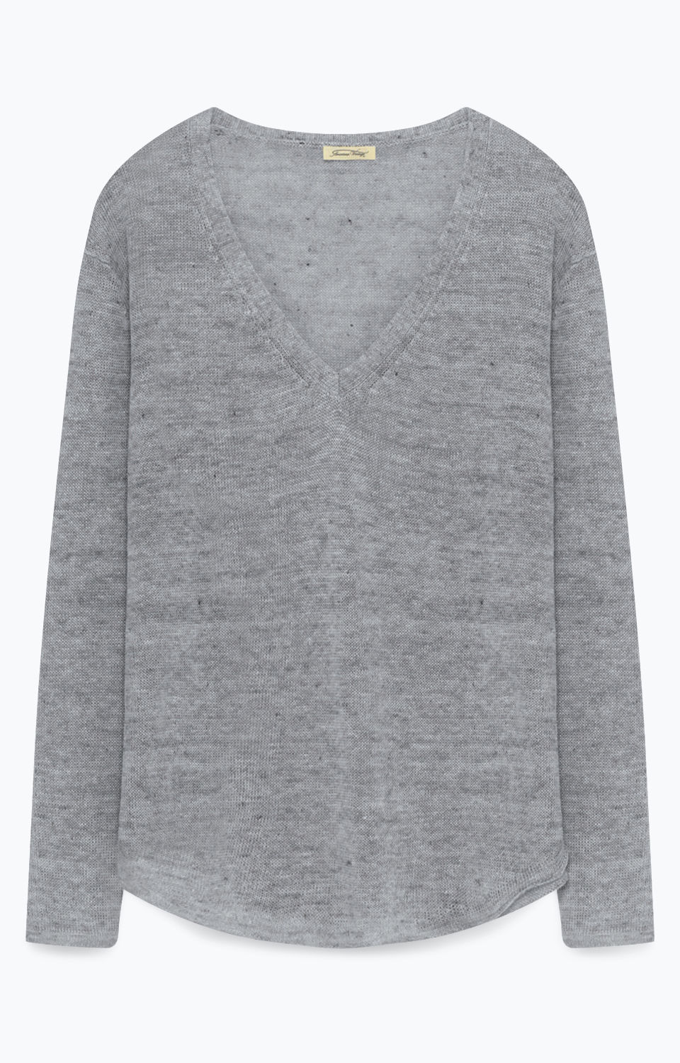 Image of   American Vintage Hørstrik, ATY224 Heather Grey