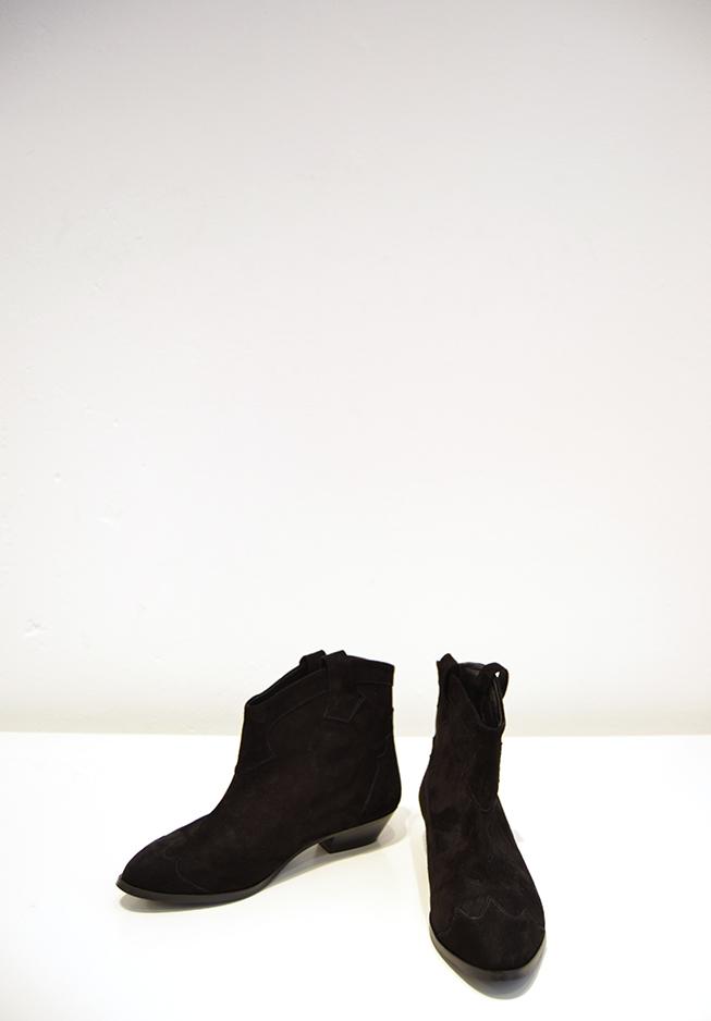 Billede af ganni støvle, S0276 tabitha sort