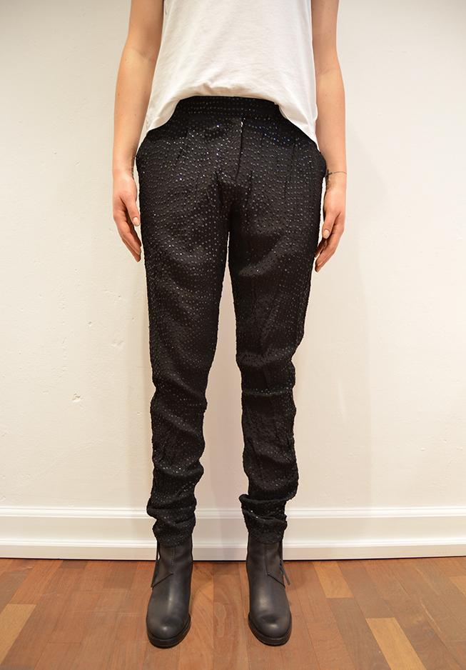 Rabens saloner bukser, 20819 sort fra n/a på tiffany