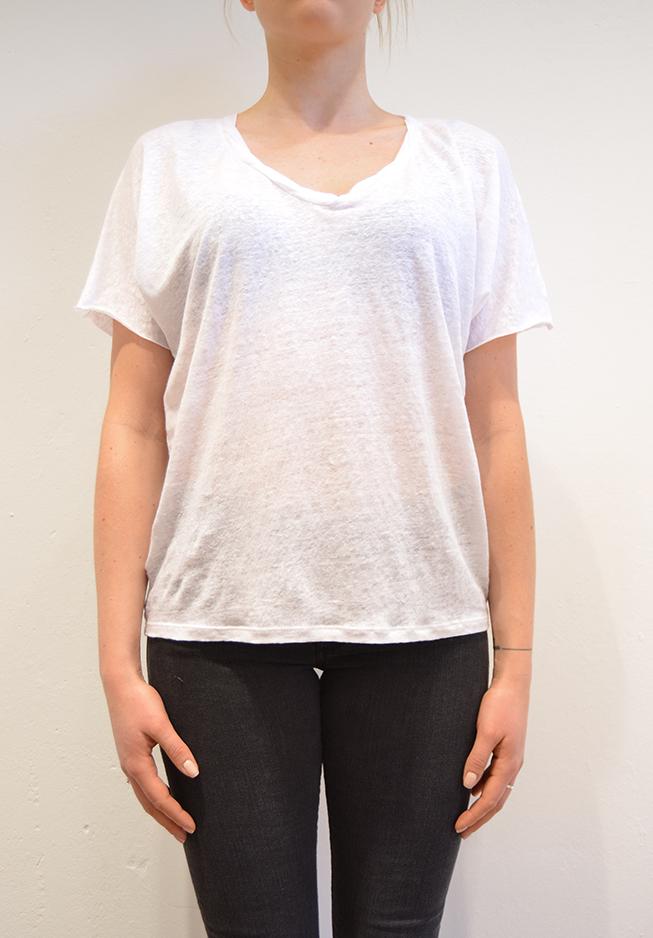 Image of   American vintage T-shirt, KAL42 hvid