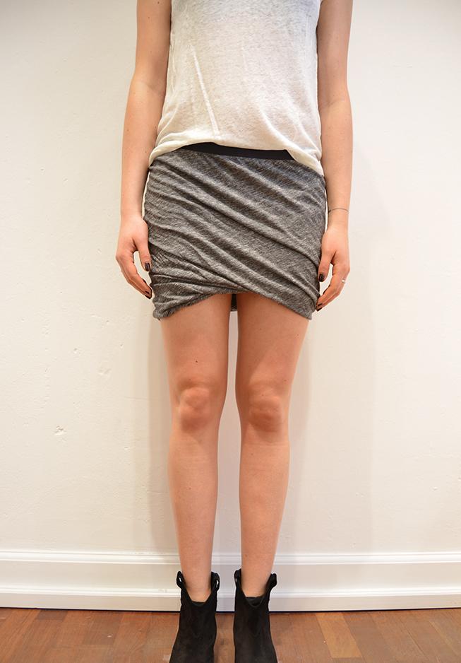 Billede af American Vintage nederdel, Hot40 grå