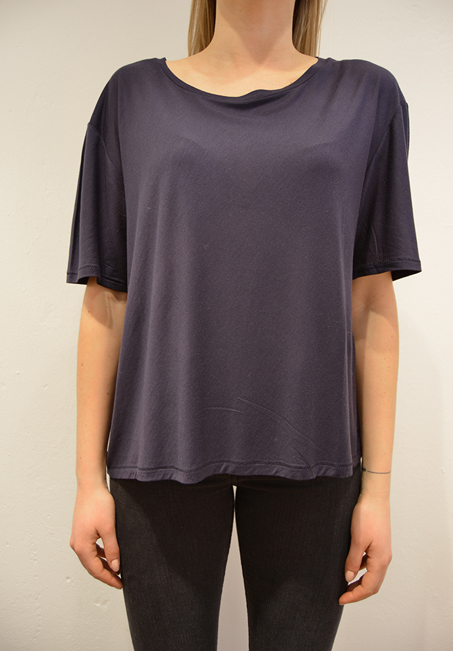 Image of   Acne t-shirt, wonder tencel blue