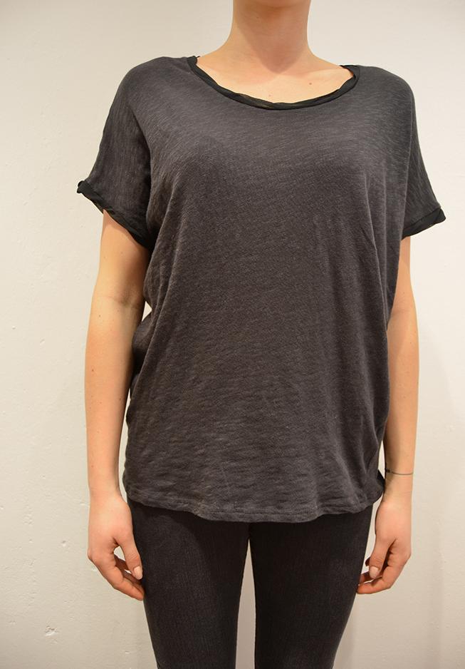 Image of   American vintage t-shirt, BAK74 grå