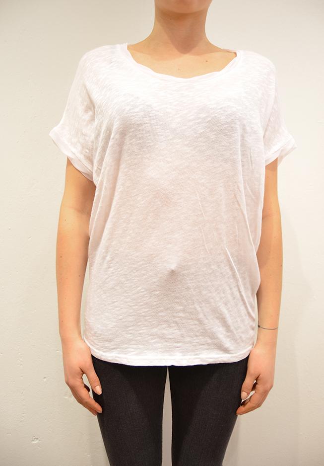 Image of   American vintage t-shirt, BAK74, hvid