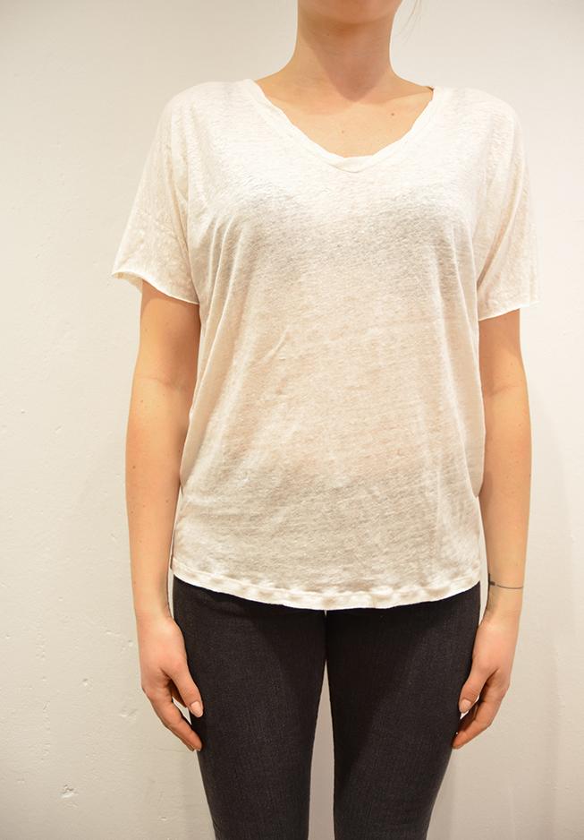 Image of   American vintage t-shirt, KAL42 creme