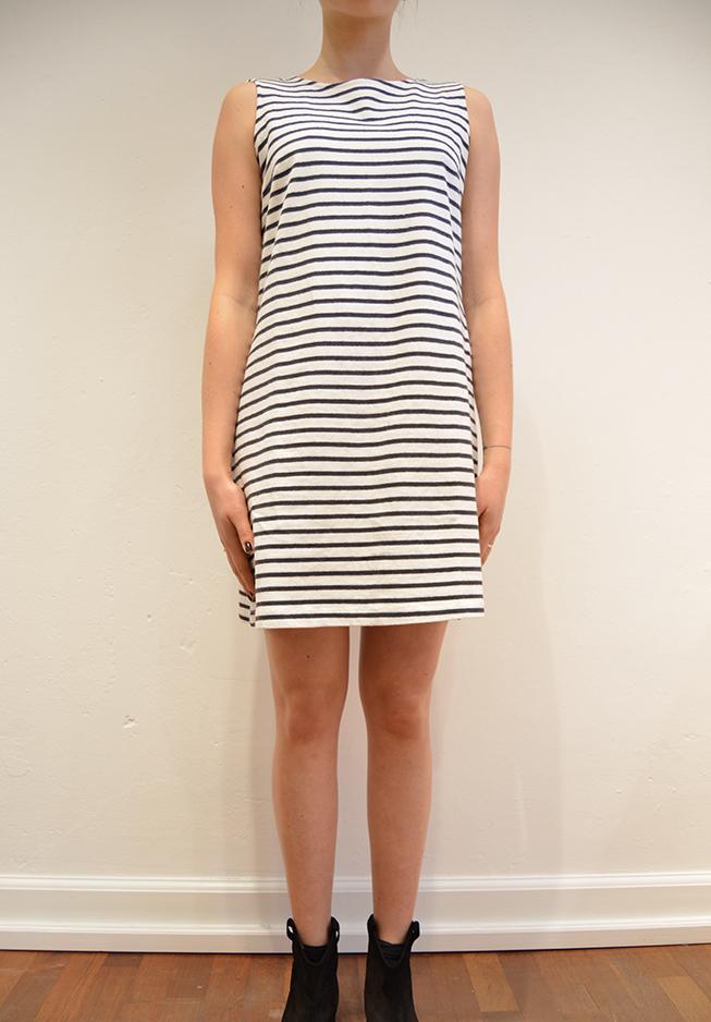 Billede af wood wood kjole, daga hvidmørknavy