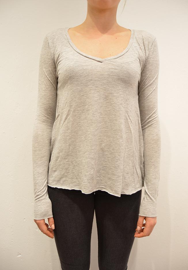 Image of   American vintage bluse, JAC52 lys grå