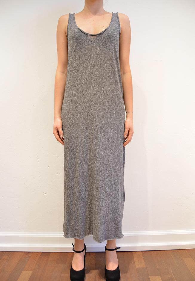 American vintage kjole, sha35, mørk grå fra n/a fra tiffany