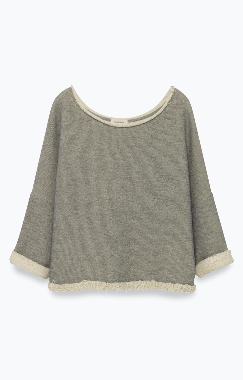 Billede af American Vintage Sweater, EMA89 Gris Chine