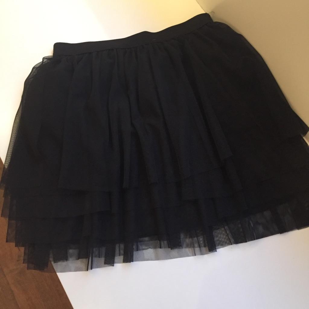 Billede af Tiffany nederdej, G206 tylskørt sort