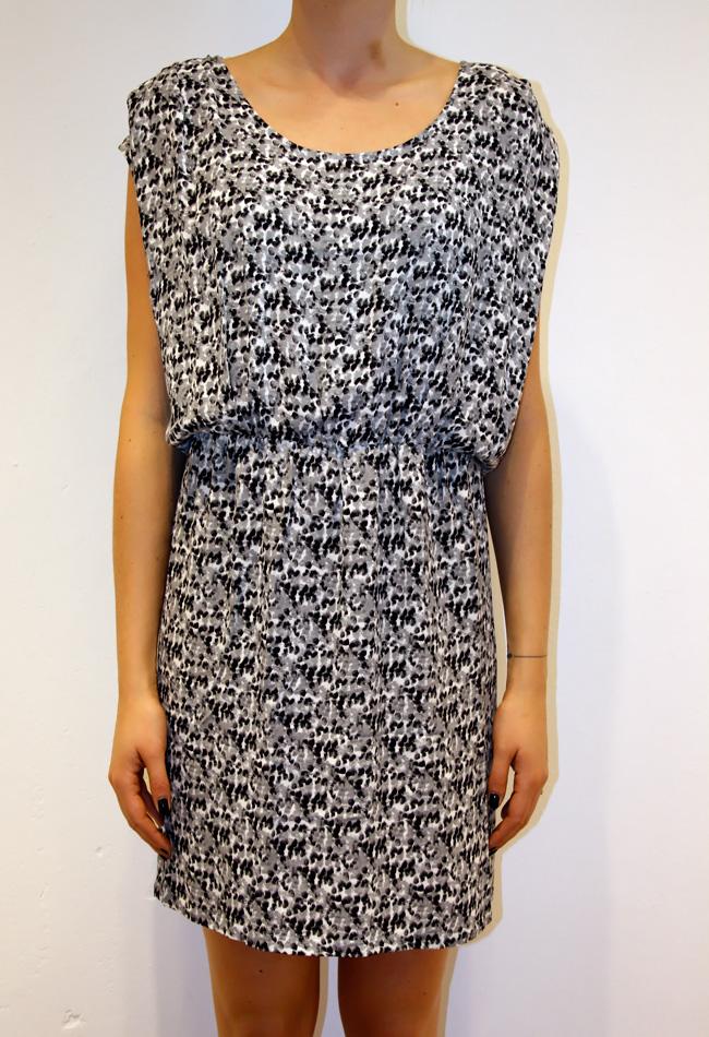 Billede af American vintage kjole, Tul138 print