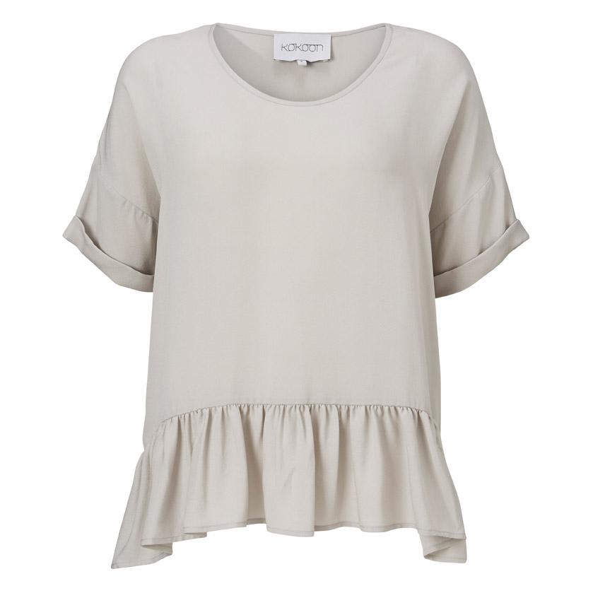 Billede af Kokoon momo T-shirt light grey