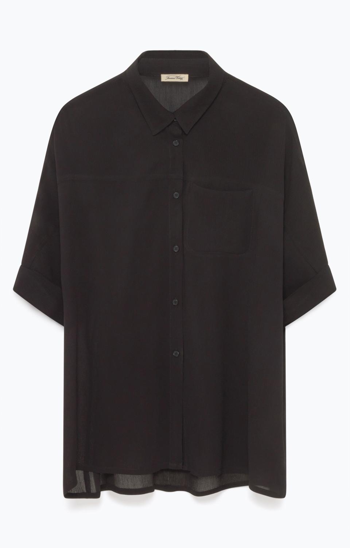 Billede af American Vintage bluse, NEY110E17 noir