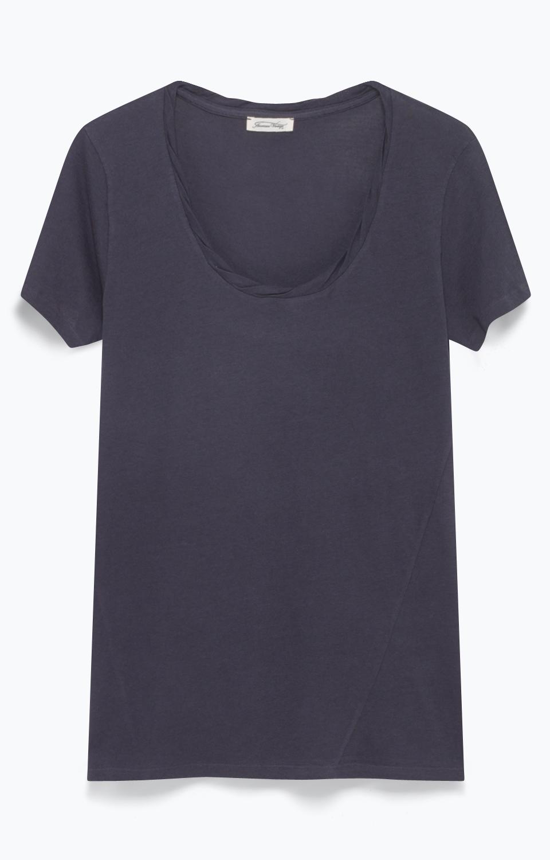 American vintage bluse, nou35 carbon fra n/a fra tiffany