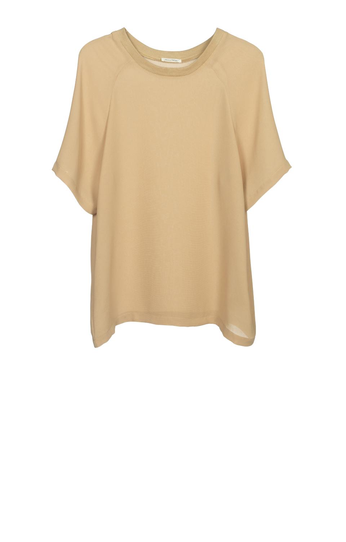 Billede af american vintage t-shirt, rosa146 nutmeg