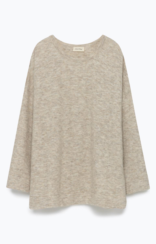 n/a – American vintage jumper, wix244 beige chine fra tiffany
