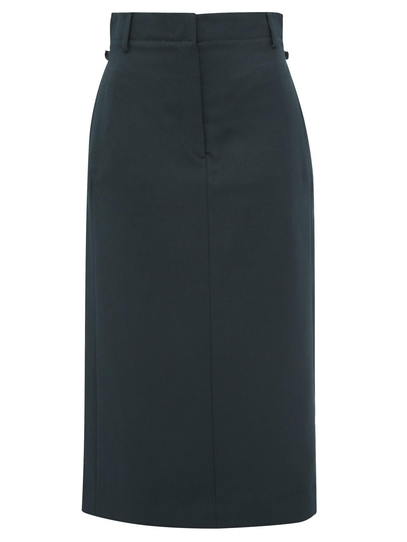 Image of ACNE STUDIOS Ixandra Twill Suit Fn-wn-skir000117, Deep Green