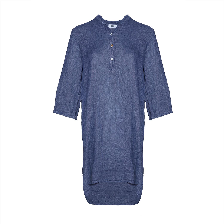 Image of   Tiffany 17690 Shirt/dress Linen, Denim Blue