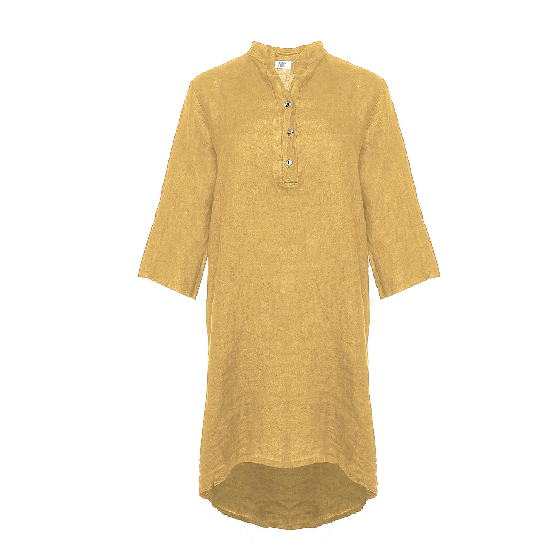 Image of   Tiffany 17690 Shirt/dress Linen, Senape