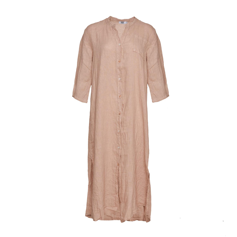Image of   Tiffany 181015 Linen Shirt/dress, Rose