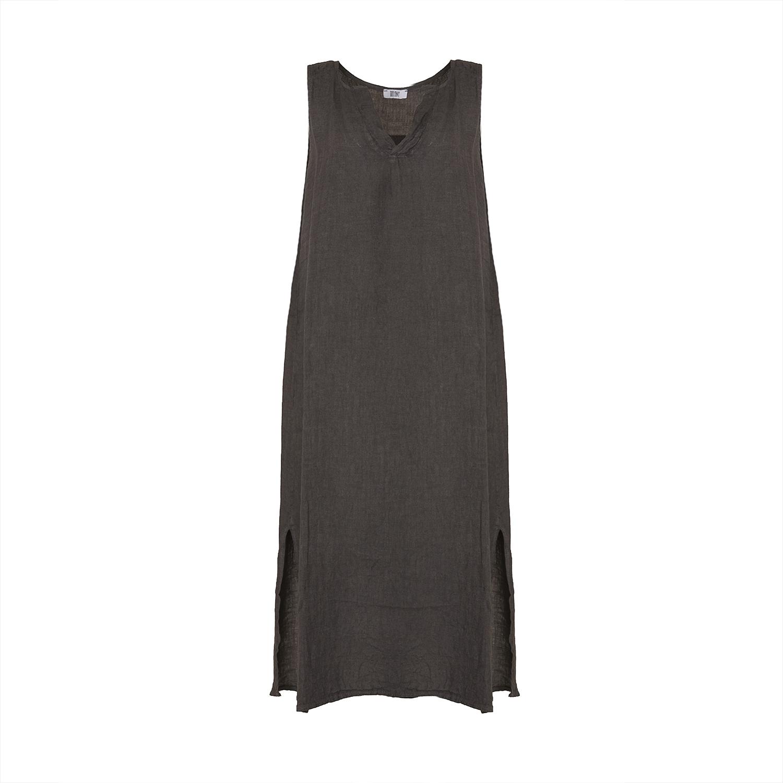 Image of   Tiffany 181037 Long Tank Dress, Dark Grey