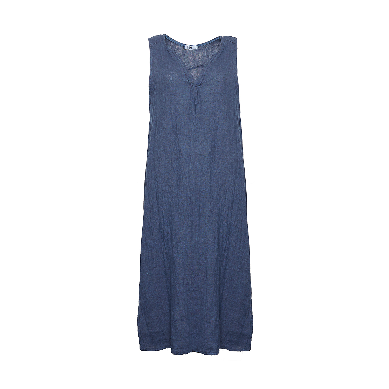Image of   Tiffany 181037 Long Tank Dress, Denim Blue