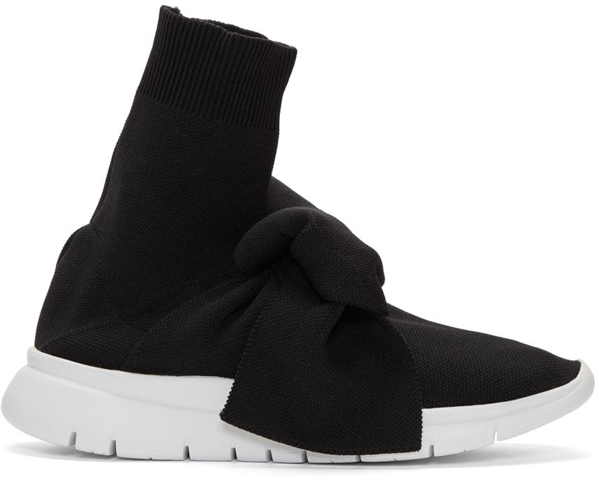 Image of   Joshua Sanders Joshua Sanders Sock Knot Sneakers, Sort