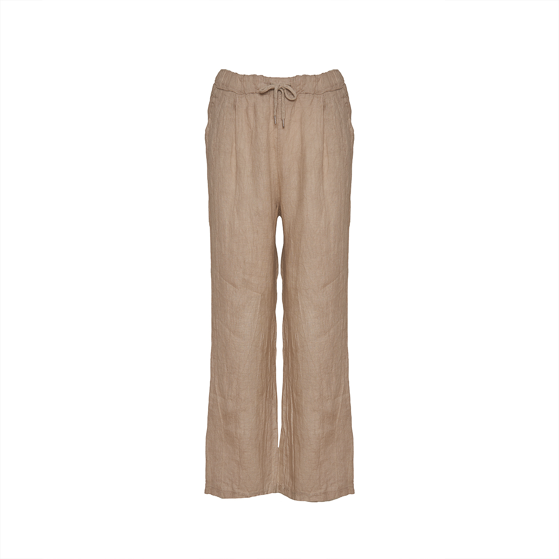 Tiffany 18870 Linen Pants, Beige   Kjoler  