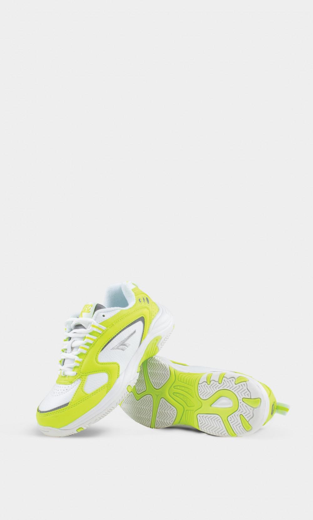 Image of   HI-TEC Hts Blast Sneakers, Neon Yellow / White