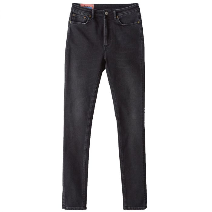Image of   Acne Studios Jeans, peg used black