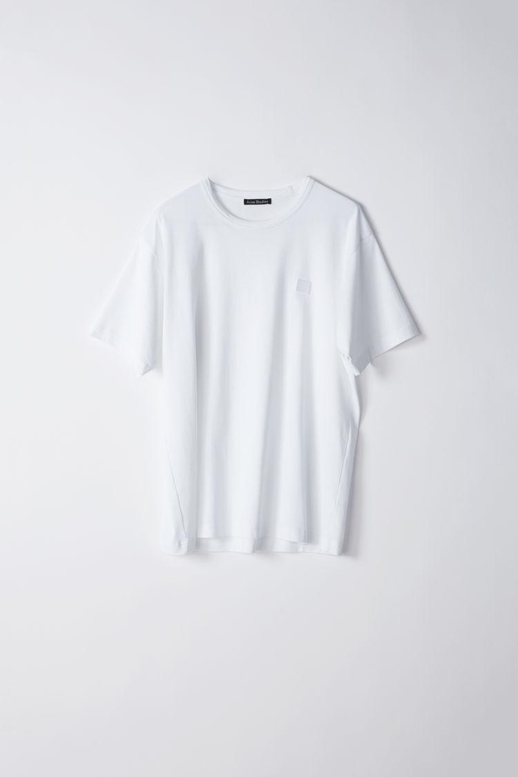 Image of   ACNE STUDIOS Ellison Face T-shirt, Optic White