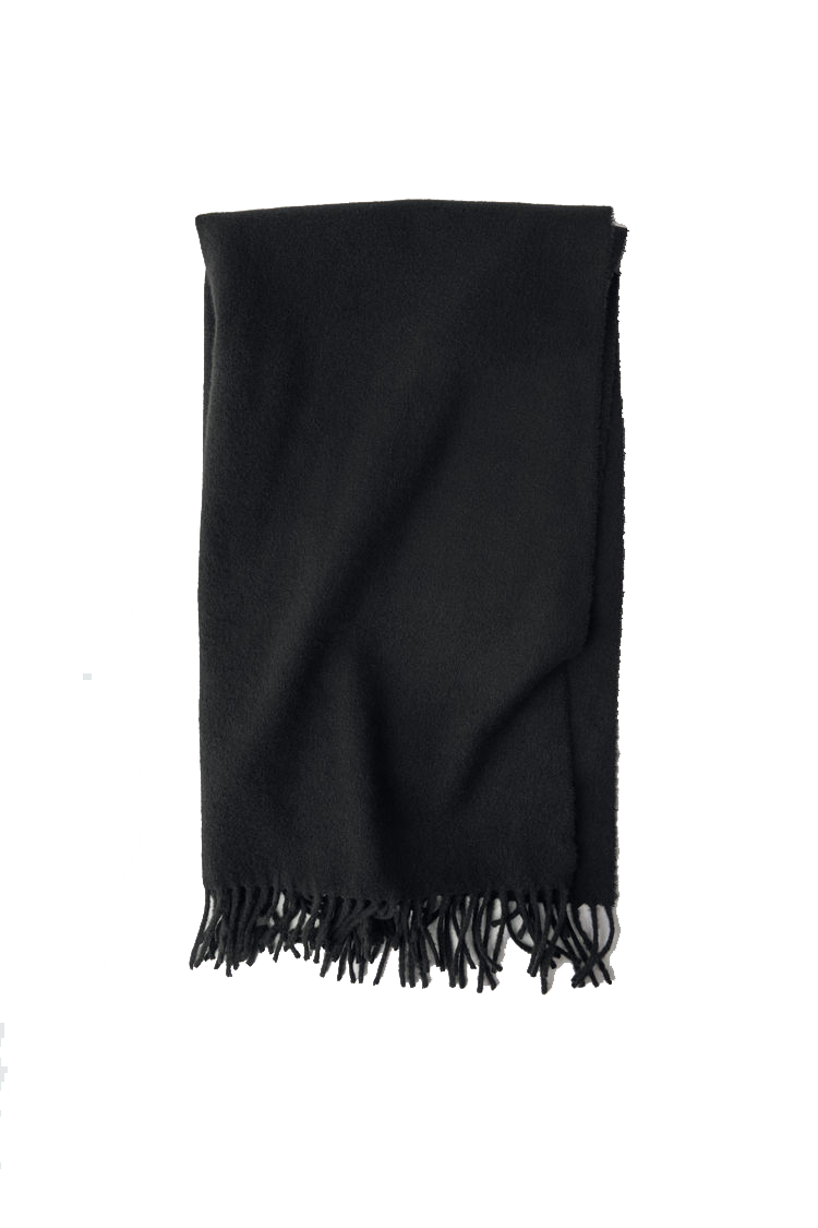 Image of ACNE JEANS Canada Scarf Wool, Black