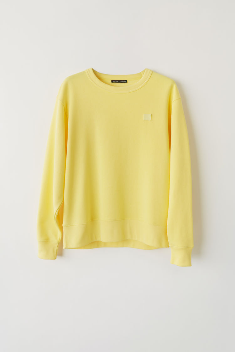Image of   ACNE STUDIOS Fairview Face Sweat, Pale Yellow
