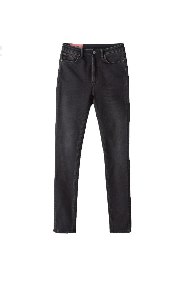 Image of ACNE STUDIOS Acne Studios Jeans Peg Lenght 34 Washed Black
