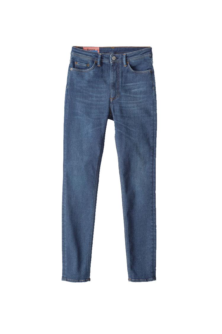 Image of ACNE STUDIOS Acne Studios Jeans Peg Lenght 32 Mid Blue