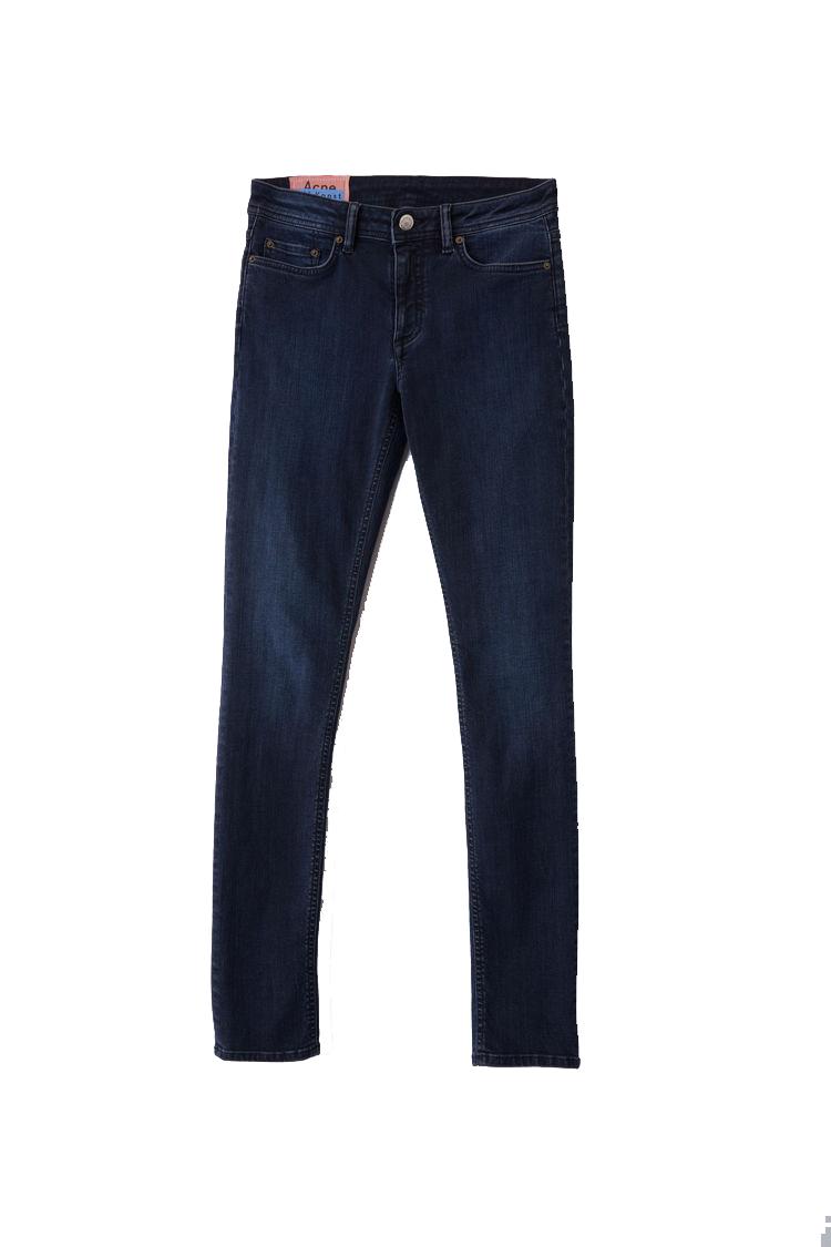 Image of ACNE STUDIOS Climb Jeans Blue Black Lenght 34, Blue Black