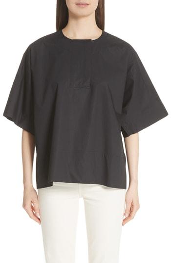 Image of   ACNE JEANS Lhena Pop Shirt, Black