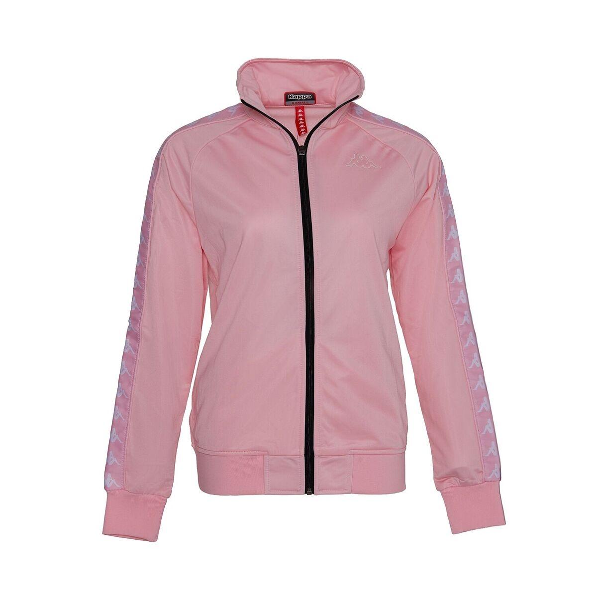 Kappa Kappa Track Jacket, Pink-White