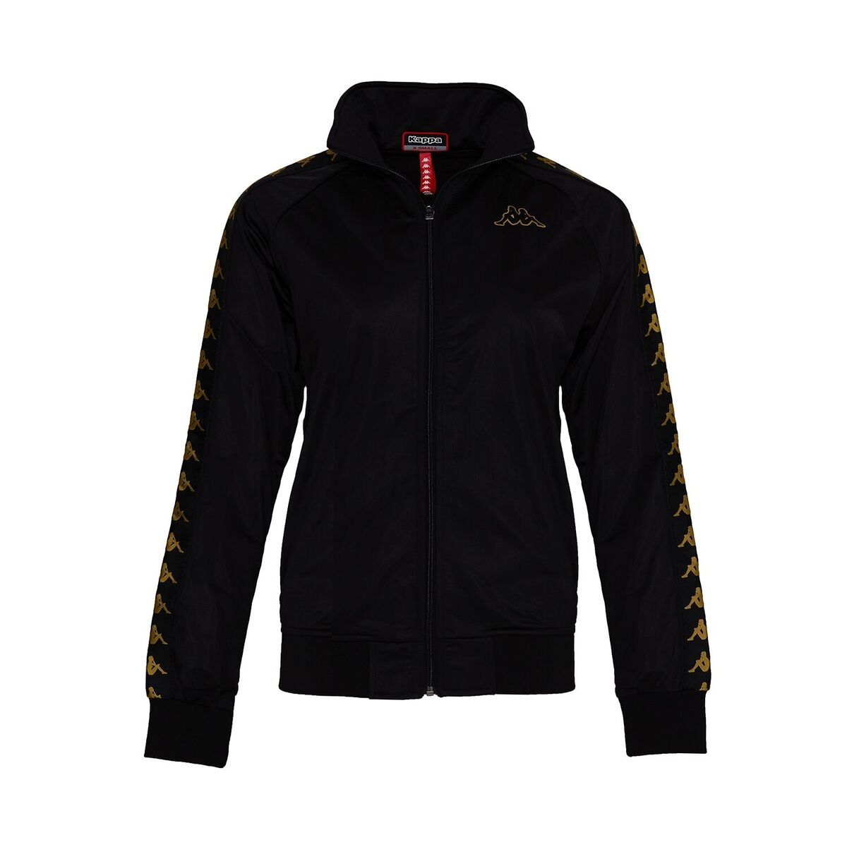 Kappa Kappa Track Jacket, Black-Gold