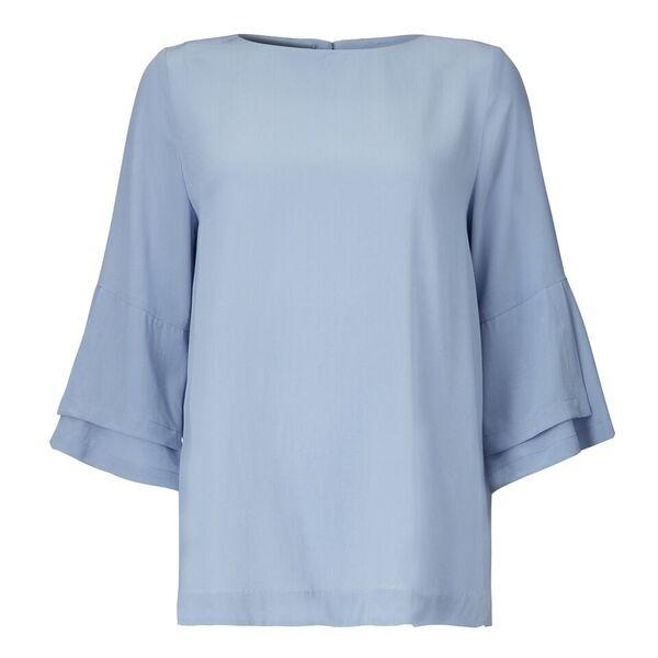 Image of   Kokoon Kokoon A Bell Blouse, Lavender Blue
