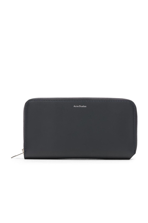 Image of   ACNE JEANS Fluorite Wallet, Black