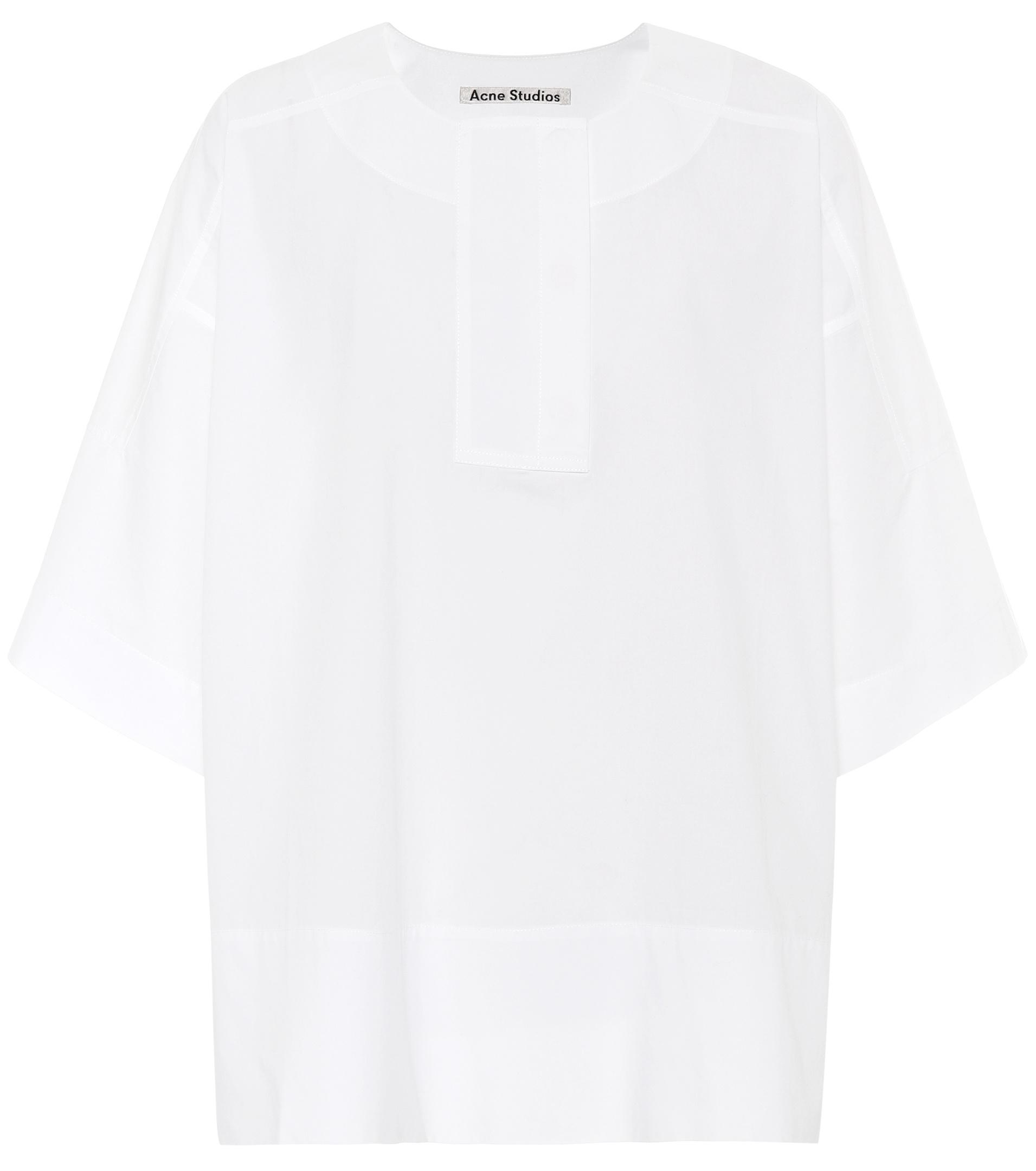 Image of   ACNE JEANS Lhena Pop Shirt, White