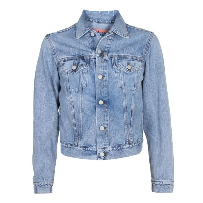 Image of ACNE STUDIOS Cowboy Jacket 1999 A90085, Light Blue