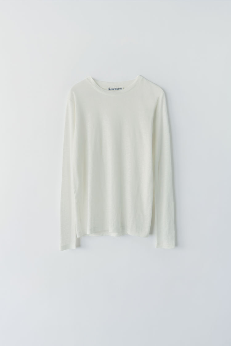 Image of   ACNE STUDIOS Taline Ls Linen, Off White