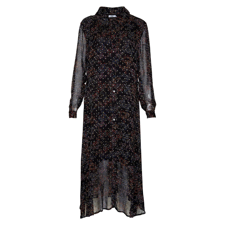 Image of   Tiffany Tiffany Skjortekjole 181168 Black/multi