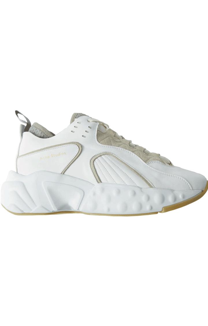 Image of ACNE STUDIOS Acne Studios Sneakers Manhattan Nappa White/white