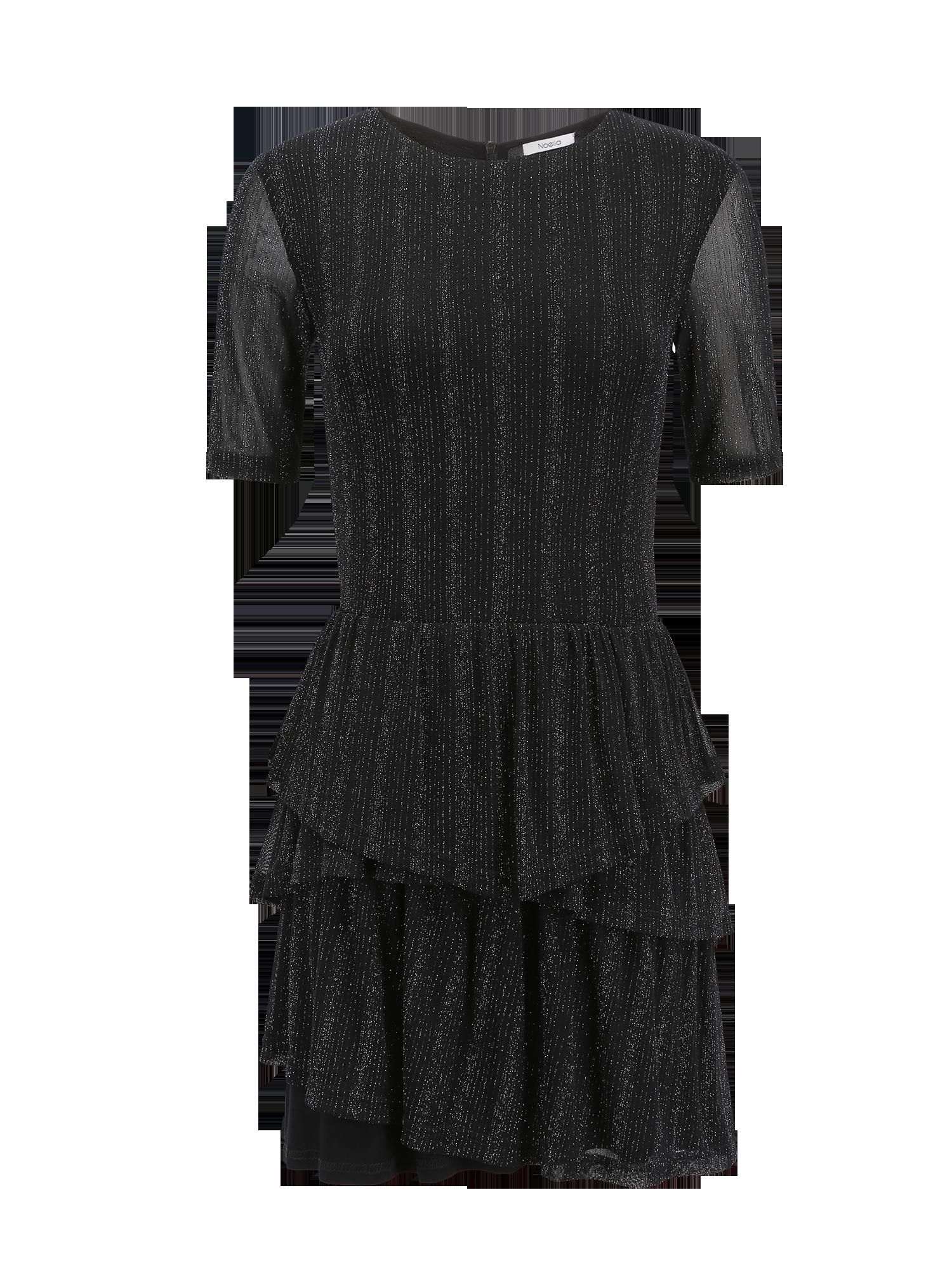 Noella Noella Anna Silver Mesh Dress