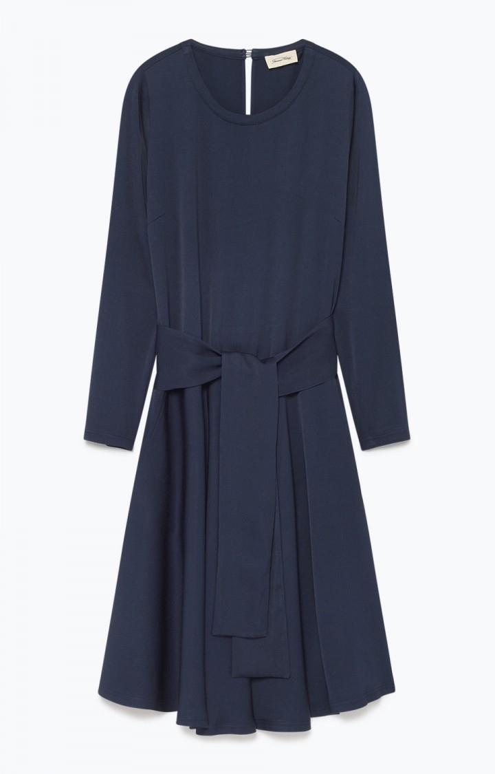 Image of   American Vintage Ari120 Robe Ml Dress, Navy